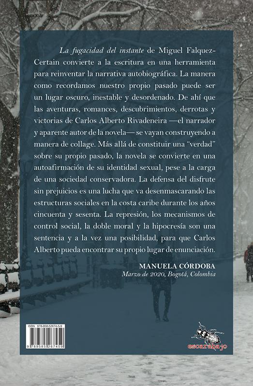 Abisinia-Review-Catálogo--La-fugacidad-del-instante--Miguel-Falquez-Certain--Contratapa--Tienda-Comprar
