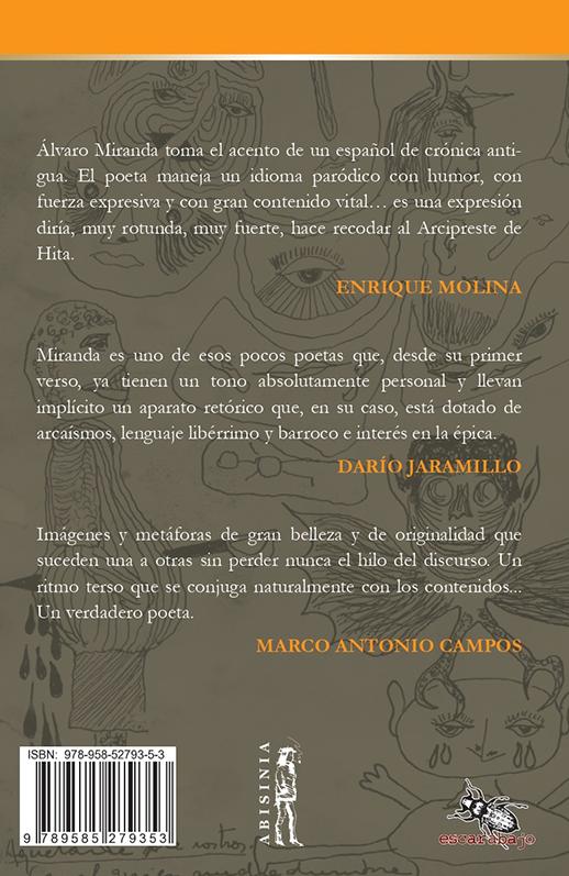 Abisinia-Review-Catálogo--El-bostezo-de-la-mosca-azul-Antología-1968-2019--Álvaro-Miranda--Contratapa--Tienda-Comprar